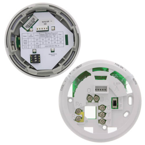 Round Non-Programmable, 1H/1C, Digital Thermostat