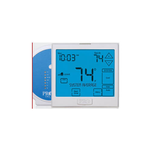 T955W Wireless Universal Programmable Touchscreen Thermostat (3H/2C)