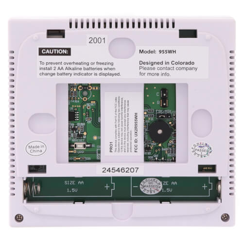 T771 Digital Non-Programmable Single Stage Thermostat (1H/1C)