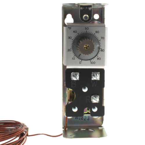 Modulating Temperature Controller, 0 F to 100 F (20 Ft Capillary)