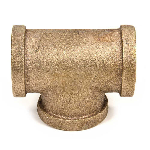 "1/2"" FIP Brass Tee Product Image"