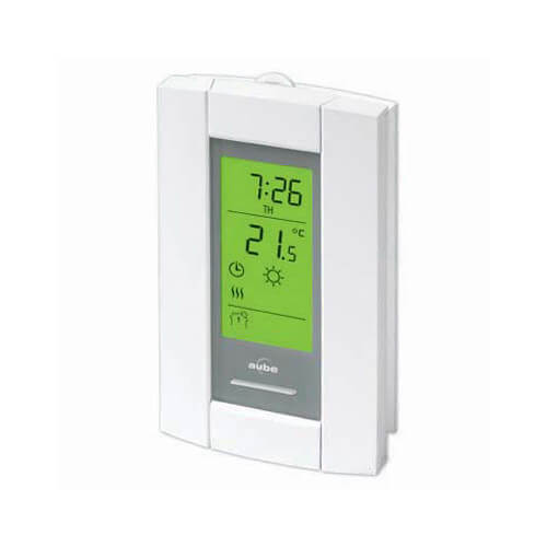 7-Day Programmable Line Volt Thermostat for Electric Heating