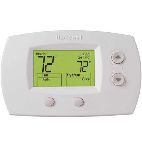 FocusPro Programmable, 1H/1C, Large Display Thermostat