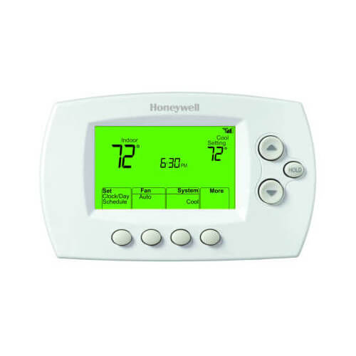 Wi-Fi FocusPRO 6000, 3H/2C, Large Display Thermostat Product Image