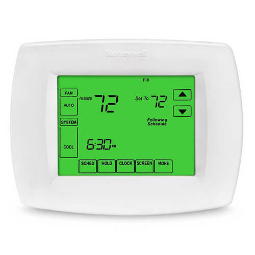Premier White Cover Plate for VisionPRO Thermostats