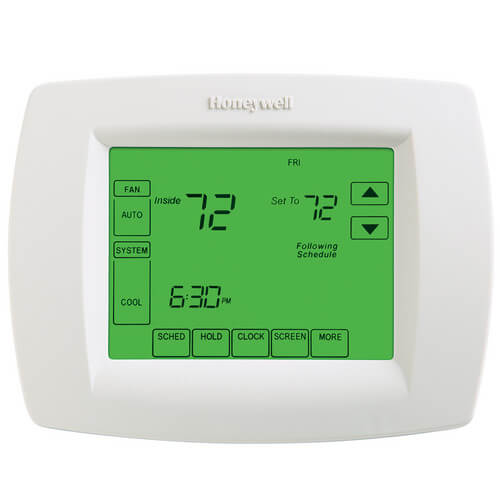 VisionPro Programmable, 3H/2C, Touchscreen Thermostat & Dehumid Control Product Image