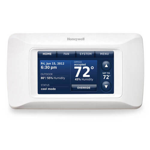 VisionPro Programmable, 3H/2C, Touchscreen Thermostat