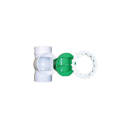 "Plastic Faucet Swivel Adapter, 1/2"" PEX x 1/2"" NPSM (Lead Free)"