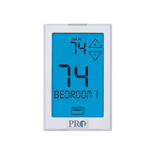 Top Tech Thermostat - Non Programmable 3 Heat/ 2 Cool (HC/HP)