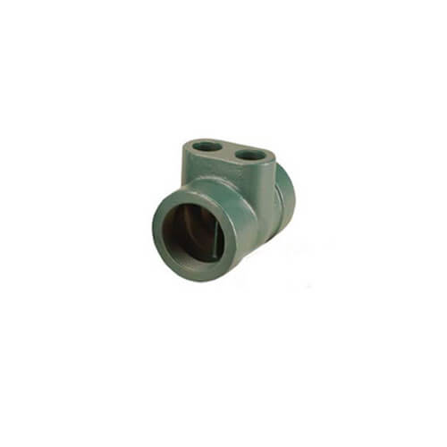 "LoadMatch Twin-Tee, Ductile Iron, 4"" (NPT)"