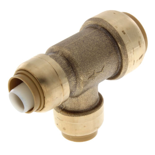 "3/4"" x 1/2"" x 1/2"" Sharkbite Reducing Tee (Lead Free) Product Image"