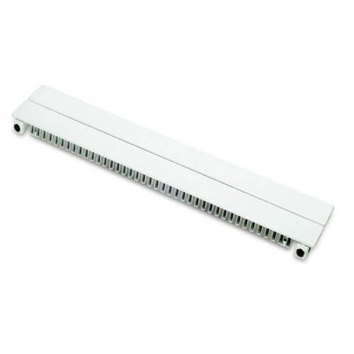 "6"" Left End Cap for UF-2 Baseboard (White)"