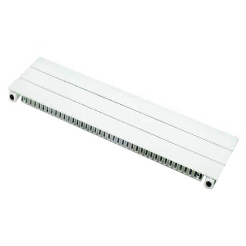 "9"" Right End Cap for UF-3 Baseboard (White)"