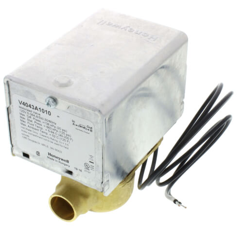 "1/2"" Sweat Connection Zone Valve (120v)"