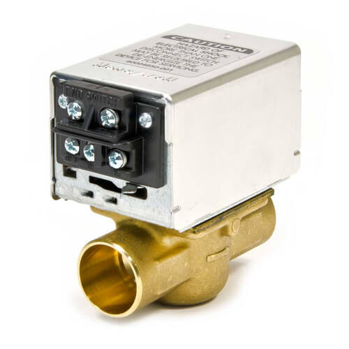 1361 103 white rodgers 1361 103 1 sweat zone valve two wire 1 sweat zone valve w terminal block connection product image