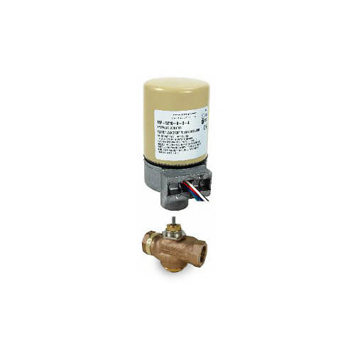 "1/2"" Three-Way Mixing Valve w/ Spring Return (4.4 cv)"