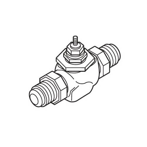 """2-1/2"""" Flanged Valve (56 cv) Product Image"""
