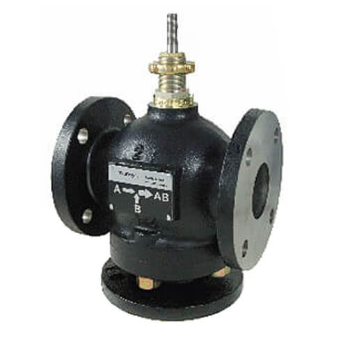 "4"" Flanged Cast Iron Mixing Valve (170 cv) Product Image"