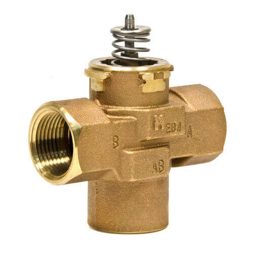 "1-1/4"" 3-Way Female NPT VC Valve Assembly (8.3 Cv)"
