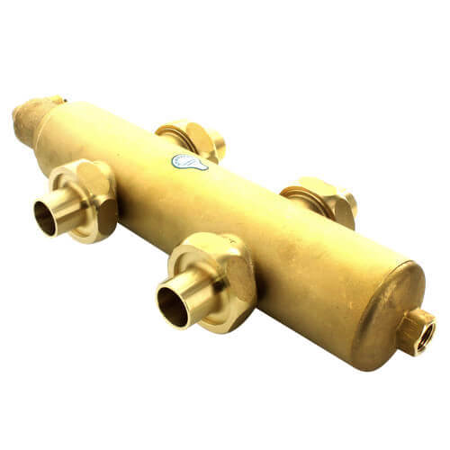 "1"" Spirotrap Drain Brass Dirt Separator with removable head (Female Thread)"