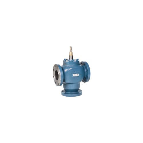 "4"" Three-way Flanged Diverting Valve w/ linear flow"