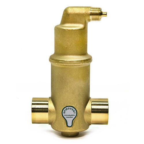 "1-1/4"" Spirovent Jr. Air Eliminator (Sweat)"