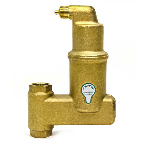 "3/4"" Spirovent Jr. High Temperature Vertical Air Eliminator (Threaded)"