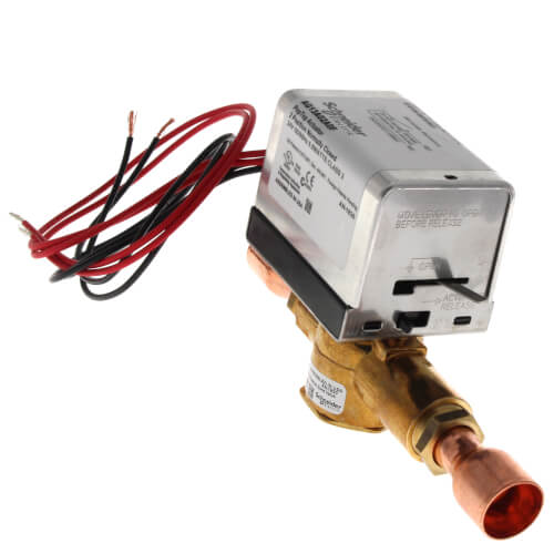 "3/4"" Inverted Flare 2-Way PopTop Zone Valve w/ End Switch (24V) Product Image"