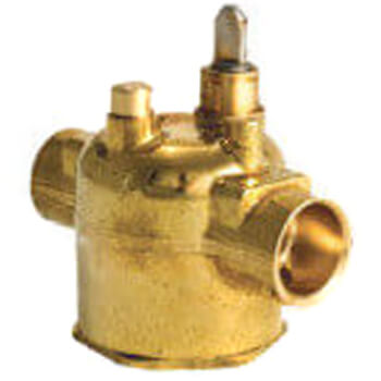 "1/2"" Sweat Connection Zone Valve, normally open, no manual opener (24v)"