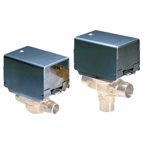 "Two-way Fan Coil Valve, 1/2"" Sweat, 3.5 Cv"