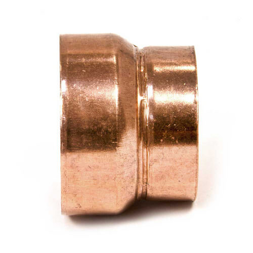 "4"" Copper DWV Coupling Less Stop"