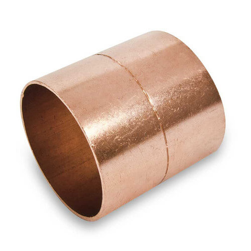 "3"" Copper Ring Coupling Product Image"