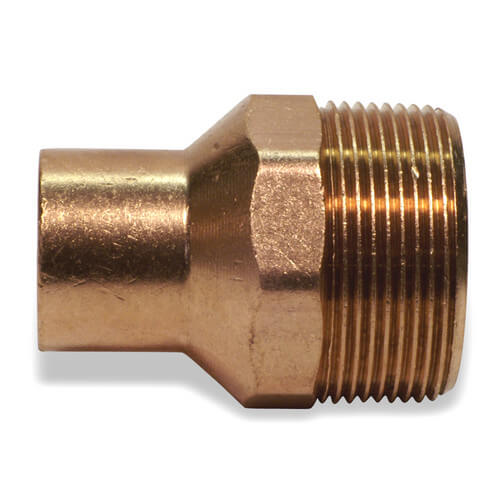 "1/4"" x 1/2"" Copper x Male Adapter"