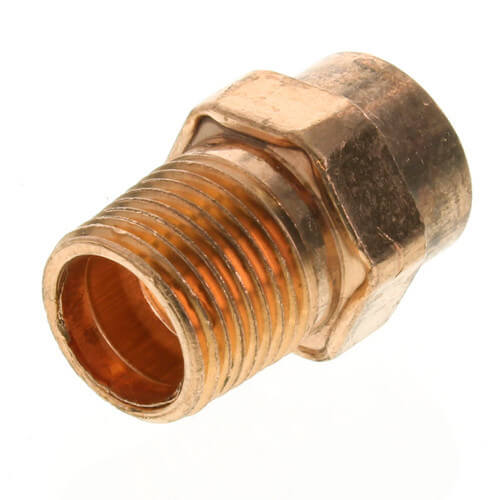 "1/2"" x 1/4"" Copper x Male Adapter"