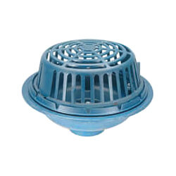 "3"" x 15"" Diameter Main Roof Drain (No Hub Outlet)"