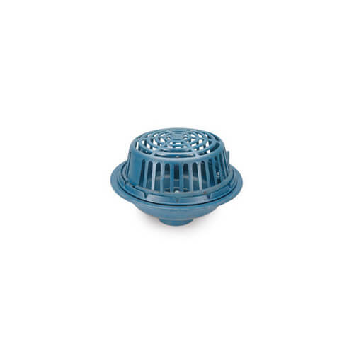 "6"" x 15"" Diameter Main Roof Drain (Threaded Outlet)"