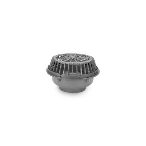 "8"" x 20"" Diameter High Capacity Main Roof Drain (No Hub Outlet)"