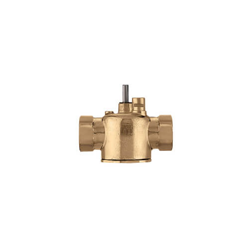 "1/2"" Sweat 2-way Lead Free Brass Valve Body (3.5 Cv)"
