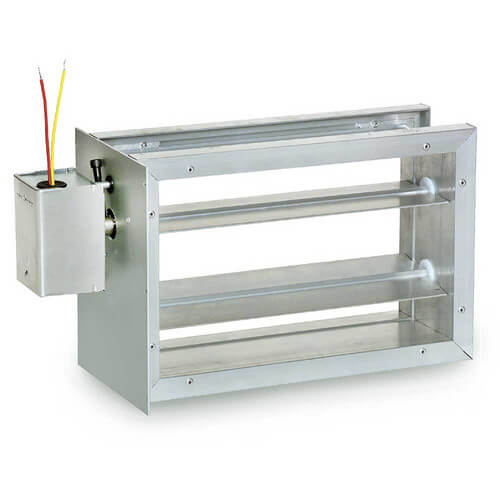 16 in. x 8 in. Rectangular Parallel Blade Damper